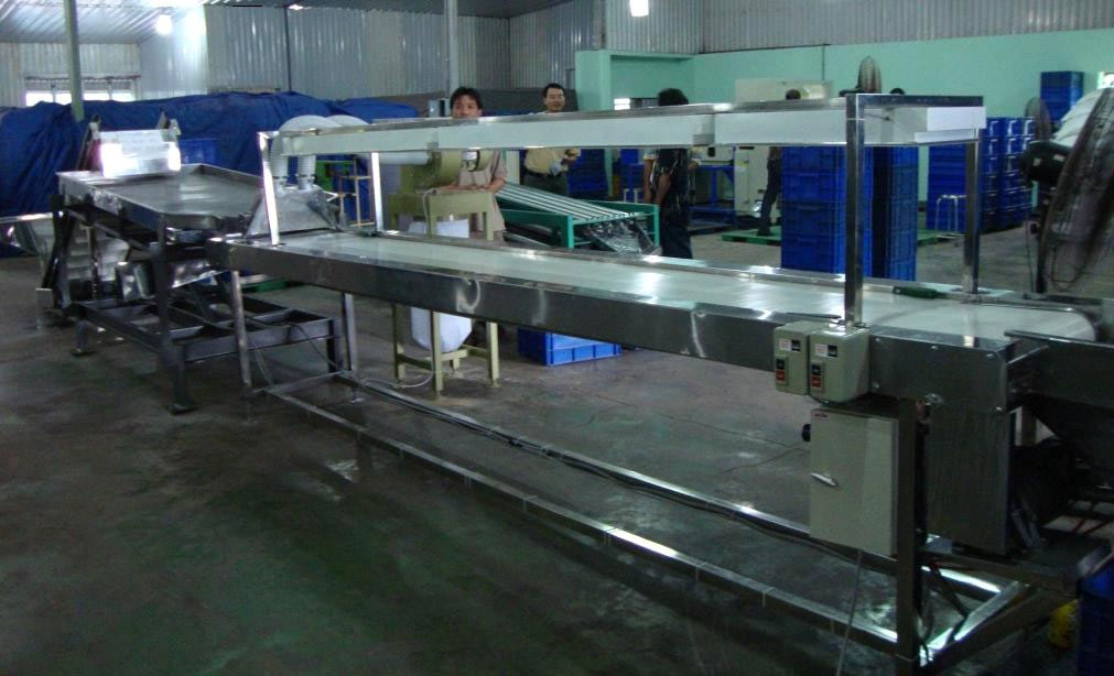 Conveyor Belt in Shop